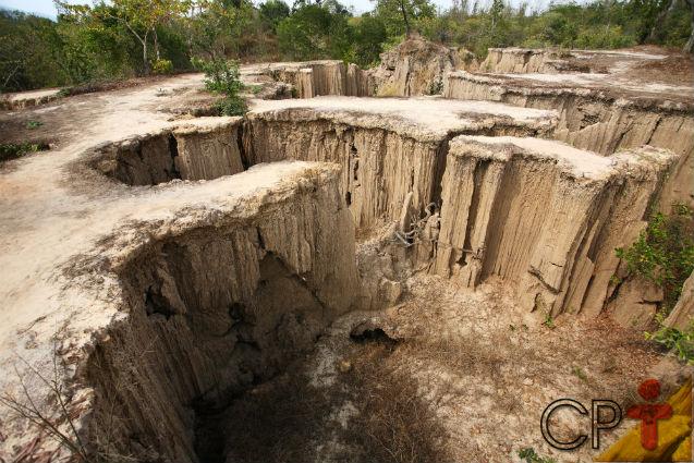 Gota de chuva provoca a erosão do solo? SIM!   Artigos Cursos CPT
