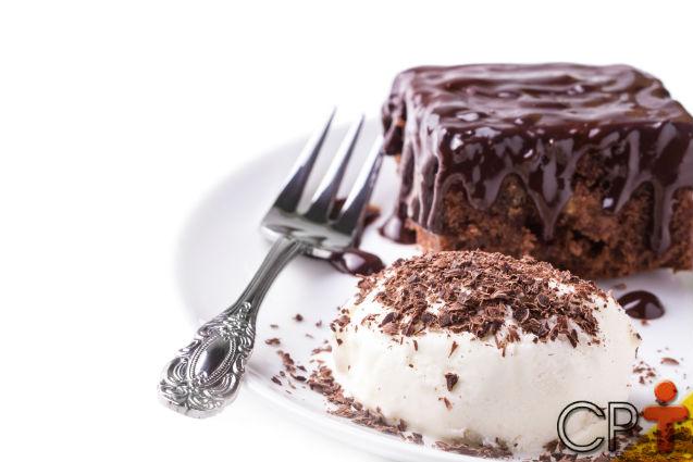 Gelado de Brownie e Sorvete: aprenda fazer   Artigos Cursos CPT