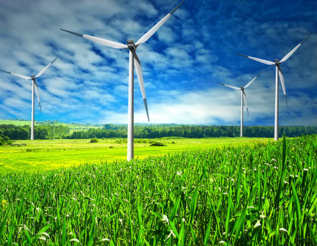 Principais componentes para gerar energia eólica em casa