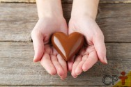 Você sabia? O chocolate melhora a saúde do coração!
