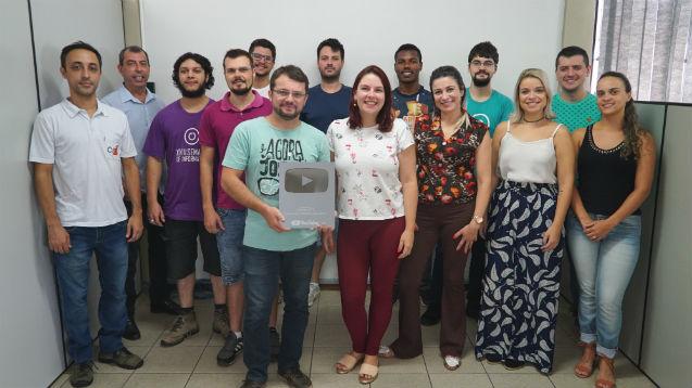 Cursos CPT ganha segundo Prêmio Botão Play de Prata do YouTube   Notícias Cursos CPT
