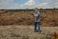 Agricultor, incorpore matéria orgânica ao solo para fortalecê-lo!