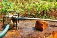 Minha bomba de irrigação está cavitando. E agora? O que fazer?