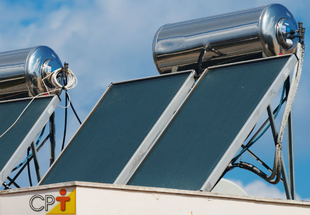 Coletores solares para aquecimento de água: onde instalar?    Artigos Cursos CPT