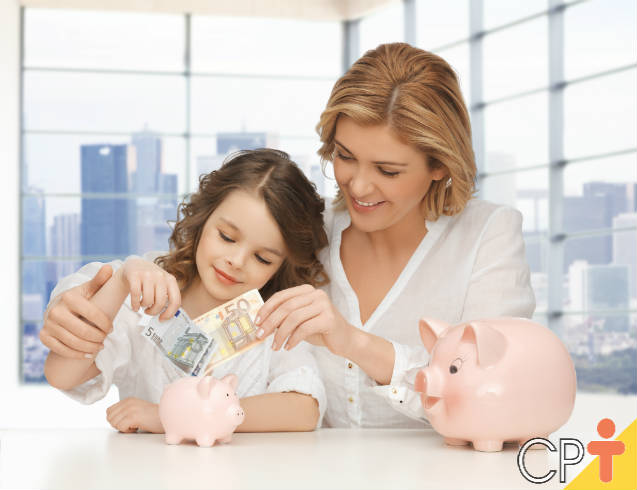 Dicas de educação financeira para crianças
