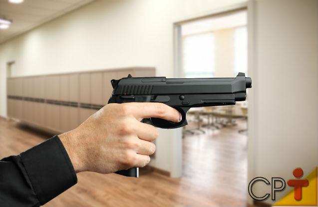Furtos e assaltos em escola: o que fazer?   Artigos Cursos CPT