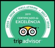 Por que o Alfa Hotel está no Hall da Fama Trip Advisor? Porque ele é EXCELENTE!