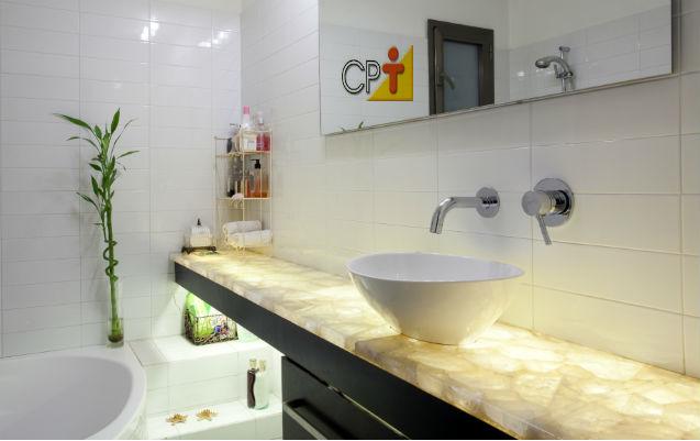 Precisando repaginar seu banheiro? Mármore Fantasia nele!   Artigos Cursos CPT