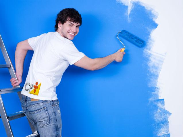 Vai repaginar suas paredes? Pinte-as você mesmo!   Artigos Cursos CPT