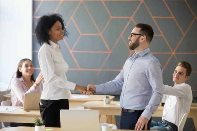 Como receber um novo colaborador na empresa