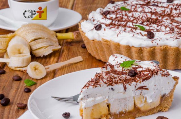 Banoffee Pie: uma torta para se comer rezando!   Receitas Cursos CPT