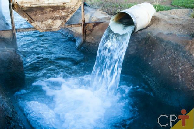 Como solicitar outorga de uso da água