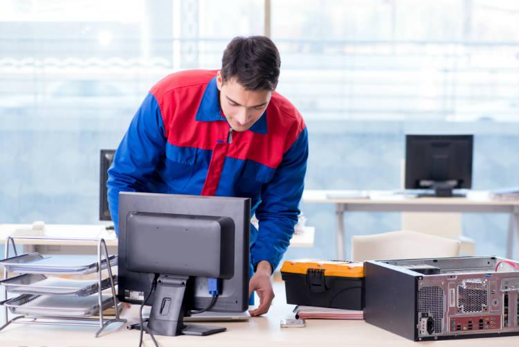 Manutenção preventiva em computadores