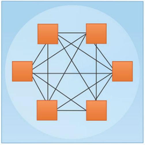 Figura representativa de uma Organização Orgânica    Artigos Cursos CPT