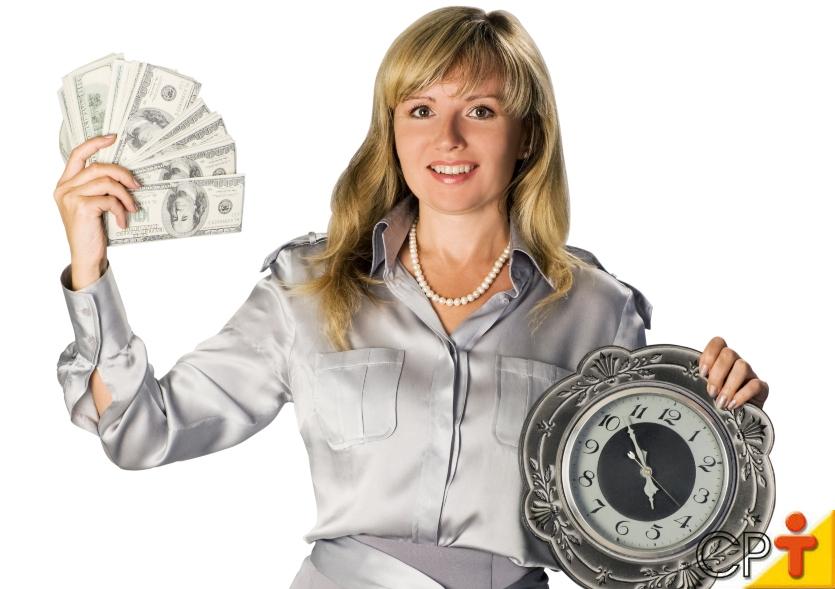 Especialista: Tempo é um recurso irrecuperável!   Artigos Cursos CPT