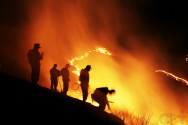 Aceiros para a contenção de queimadas em áreas de declive: sim ou não?