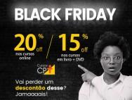 O melhor investimento na Black Friday? CAPACITAÇÃO Cursos CPT!