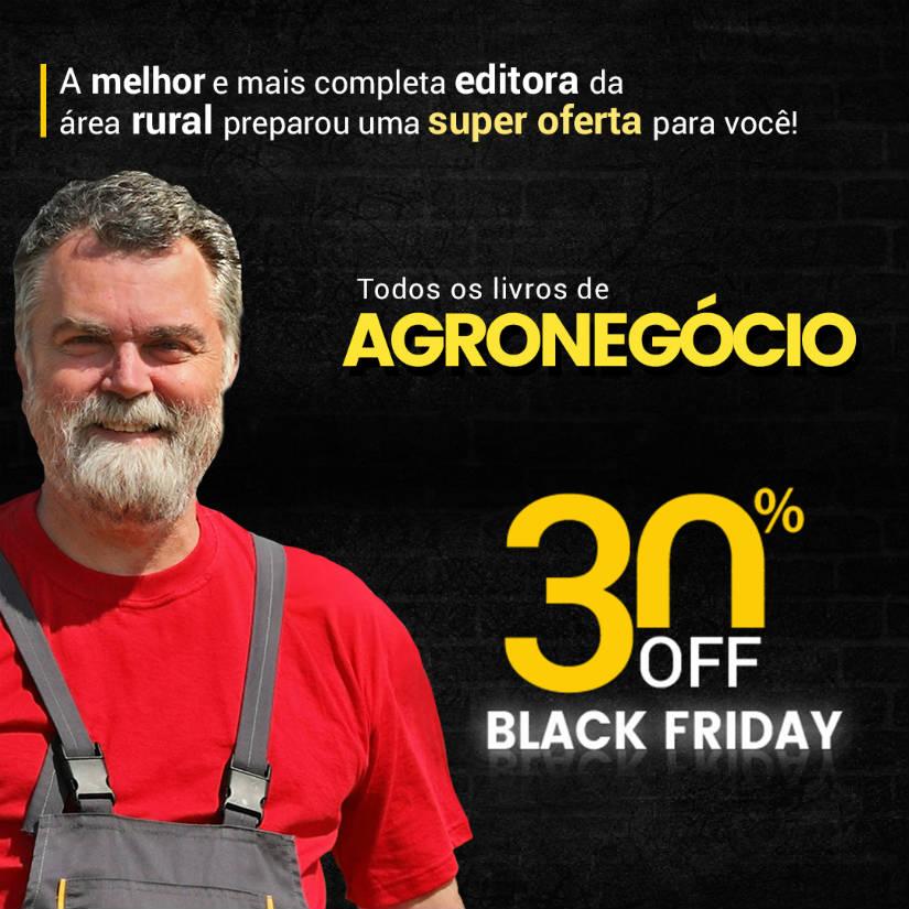 Não perca a Black Friday da AFE, a maior editora de livros para agronegócios do Brasil