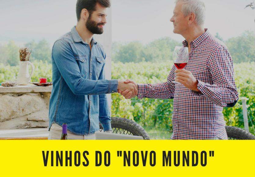 O assunto é vinho? Defina a expressão Novo Mundo   Artigos Cursos CPT