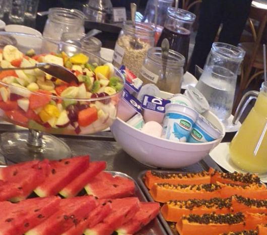 O melhor café da manhã da região!