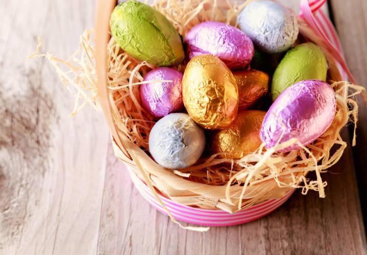 Ganhe dinheiro com cestas de ovos de Páscoa