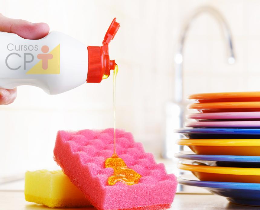 Em casa? Prepare seu próprio detergente para a limeza de seu lar    Artigos Cursos CPT