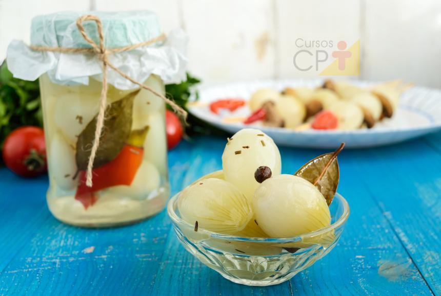 Picles de cebola: faça na quarentena e venda depois!   Artigos Cursos CPT