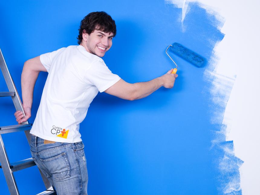 Antes de pintar, limpe bem e prepare a parede   Artigos Cursos CPT