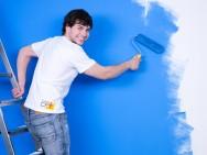 Antes de pintar, limpe bem e prepare a parede