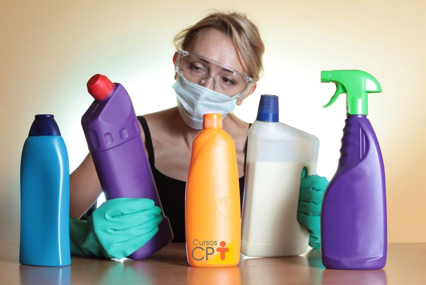O que fazer em casa nessa quarentena? Produtos de limpeza!   Artigos Cursos CPT