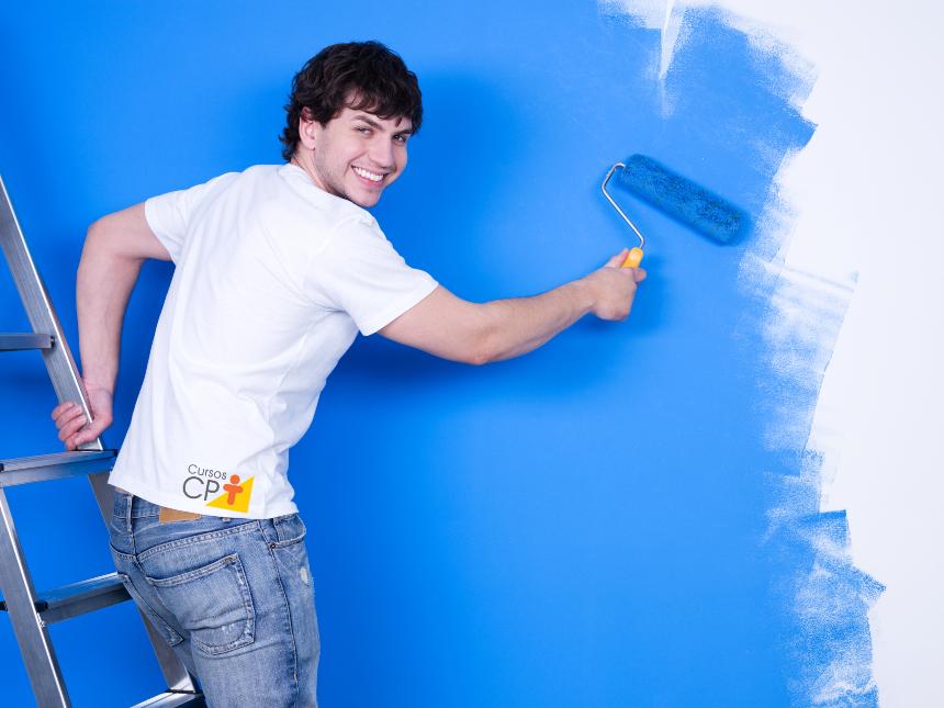 De quarentena? Texturize as paredes da casa com o efeito Ragging   Artigos Cursos CPT