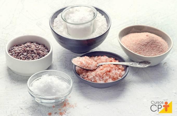 7 diferentes tipos de sal não refinados