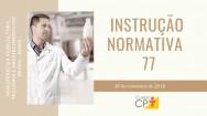 Instrução Normativa Nº 77, de 26 de Novembro de 2018 - Completa e Segmentada