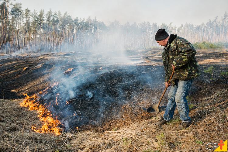 Fogo em propriedades rurais - imagem ilustrativa