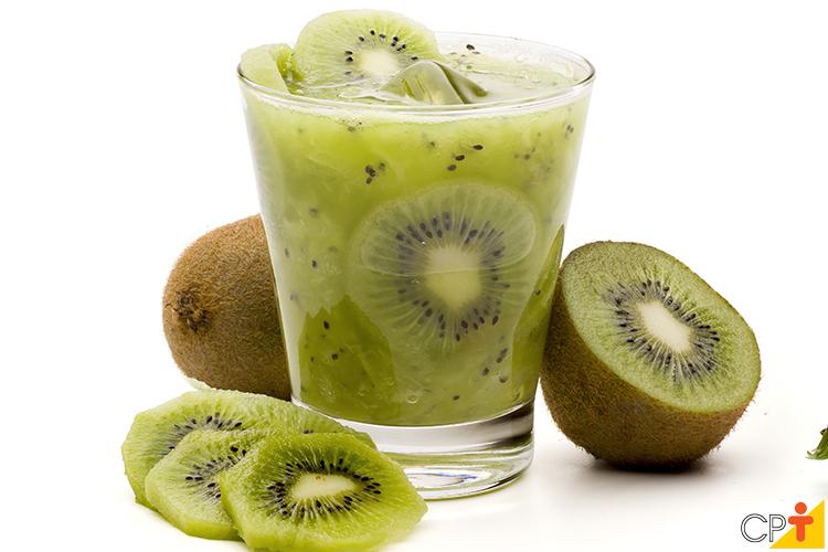 Drink com kiwi - imagem ilustrativa