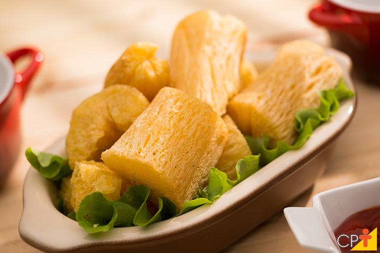 Mandioca frita - imagem ilustrativa