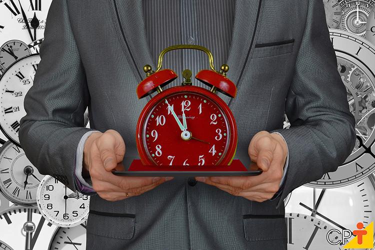 Gerenciamento de tempo - imagem ilustrativa