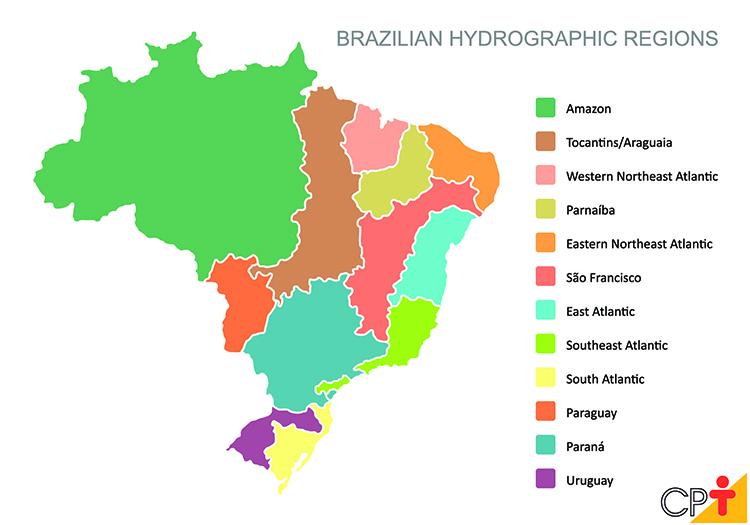 Bacias hidrográficas brasileiras (em inglês)