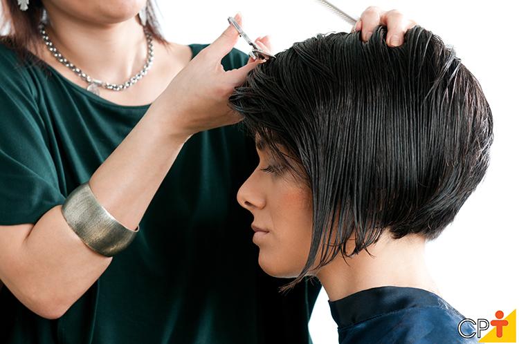 Corte de cabelo feminino - imagem ilustrativa