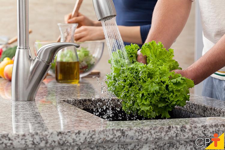 Higienização de alimentos - imagem ilustrativa