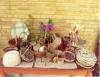 Cestaria é arte que pode ser feita em fibras de bambu, cipó e taboa