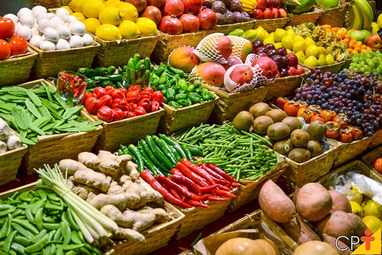 Produtos agrícolas - imagem ilustrativa