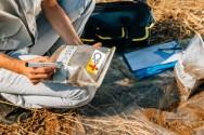 Amostragem e análise do solo para aplicação econômica de adubo