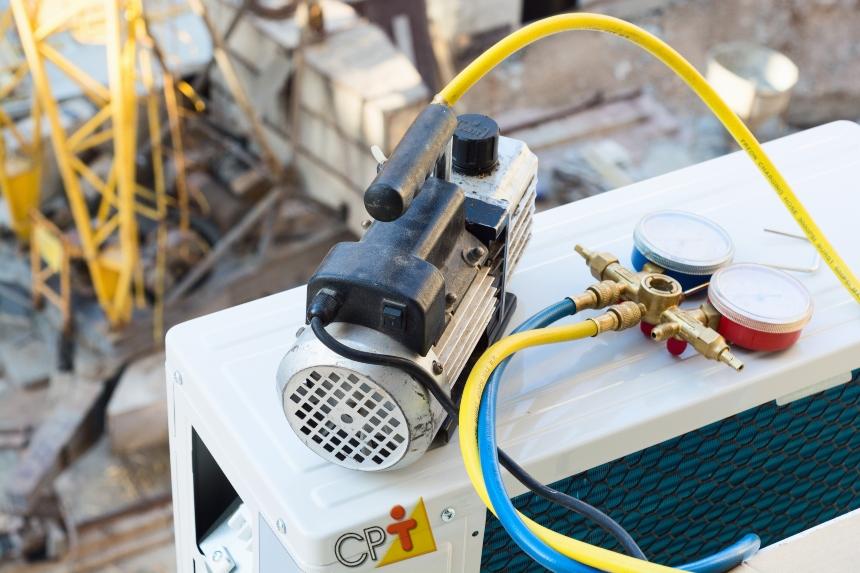 Condicionadores de ar split: realização de vácuo no sistema    Artigos CPT