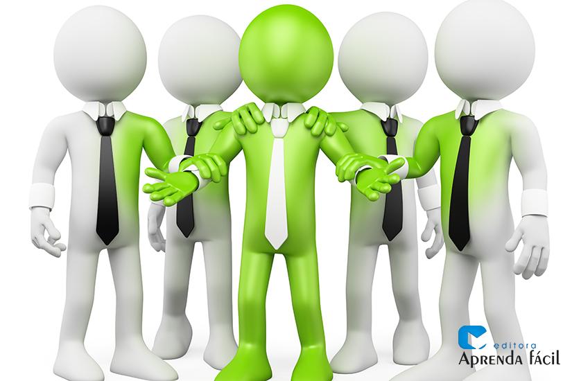 Líder inspirador - imagem ilustrativa