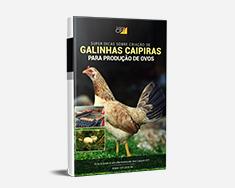 E-book Super Dicas Sobre Criação de Galinhas Caipiras para Produção de Ovos