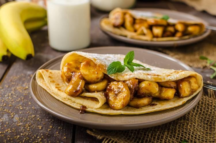 Receitas com banana para lanchonetes, restaurantes e hotéis