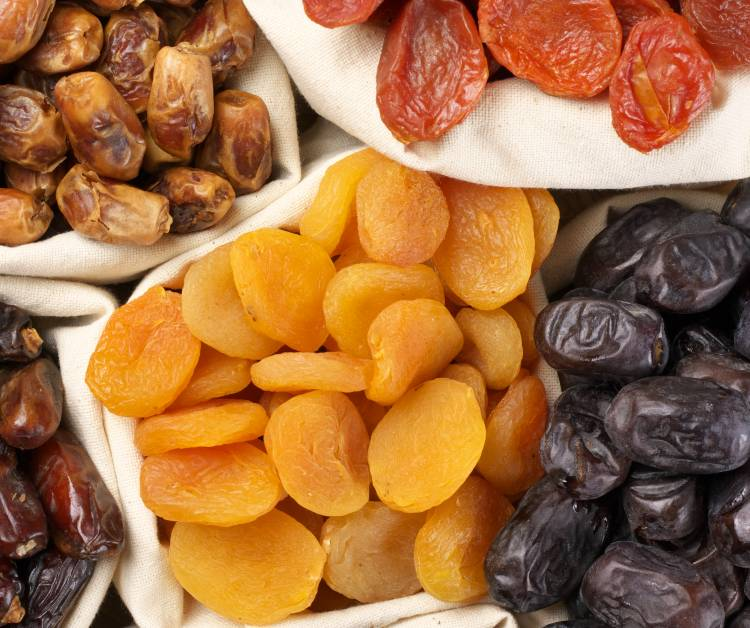 5 tipos de alimentos que podem ser desidratados