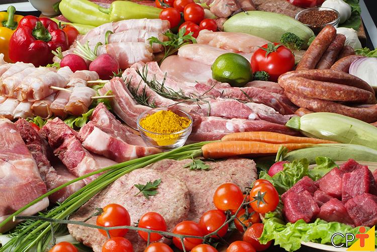 Carnes - imagem ilustrativa