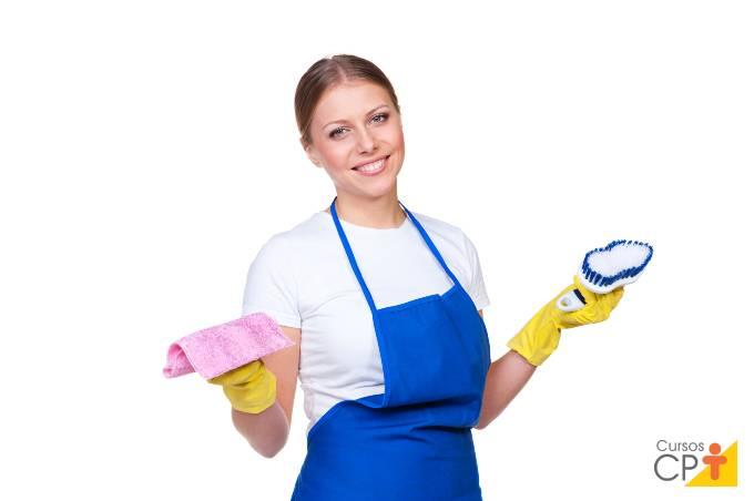 Principais tarefas da empregada doméstica
